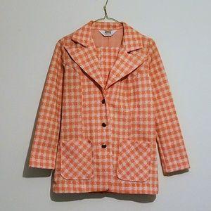 Vintage Montgomery Ward Blazer and Pants Suit